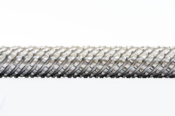 螺旋拉刀拉削工件